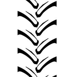 tractor tread pattern vector image