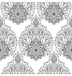 Abstract Lotus Seamless Pattern vector
