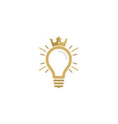 King idea logo icon design vector