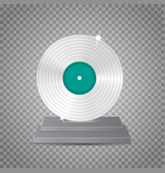 lp platinum vector image