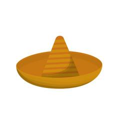 Mexican hat icon vector