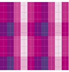 Plaid fabric seamless pattern vector