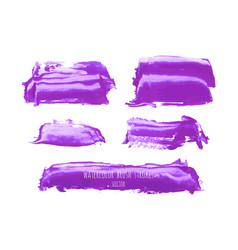 Ultra violet purple lilac grunge marble vector