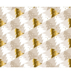 xmas tree luxury pastel color pattern vector image