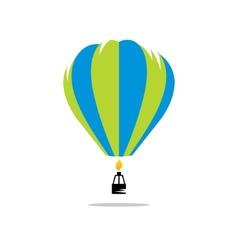 Air balloon sign vector image