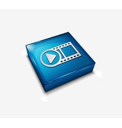 media icon vector image