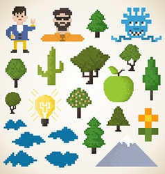 Pixel collection vector