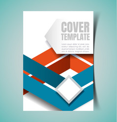 Abstract report cover1 vector