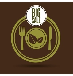 Big sale kitchen food healthy vector