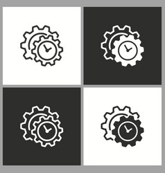 deadline time icon pictogram for graphic vector image