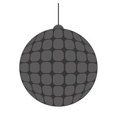 Disco ball icon vector