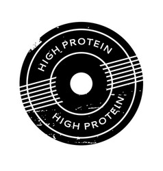 High protein rubber stamp vector