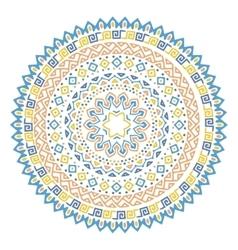 mandala background vector image