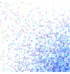 polygonal abstract tiled triangle background vector image