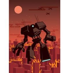 Giant Robot vector image