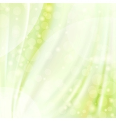 Green silk backgrounds vector image