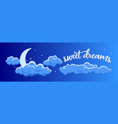 Night clouds 2 vector