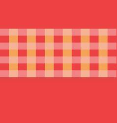 orange checkerboard pattern arranged in alternatin vector image