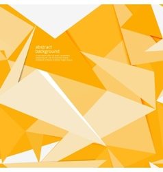 yellow paper background vector image vector image