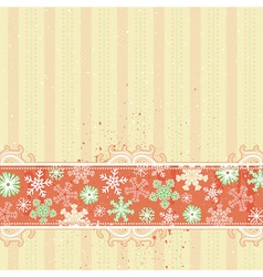 Beige christmas background vector