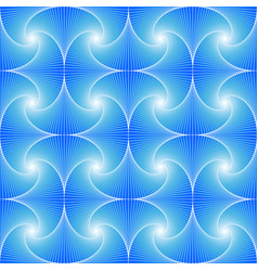 blue seamless pattern created whirls and vector image