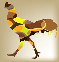 Cock Chicken design vector image