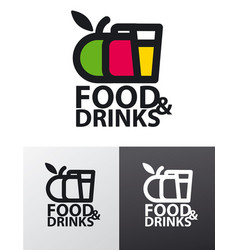 Food company logo vector