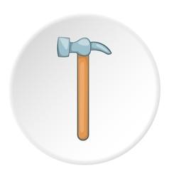 Hammer icon cartoon style vector image