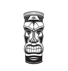 Hawiian totem Tiki vector