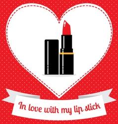 Lip stick vector