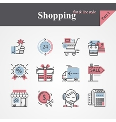 Shopping Part I vector image