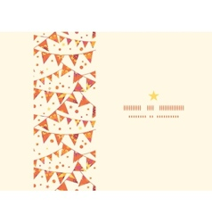 Christmas textured decorations flags horizontal vector