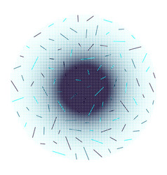 background halftone dots and lines vector image vector image