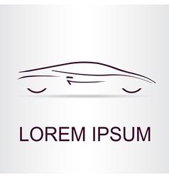 Auto logo vector image