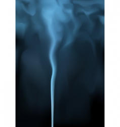 blue smoke vector image