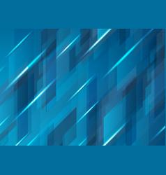 Dark blue abstract hi-tech pattern design vector