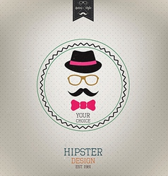 Hipster design 2 vector