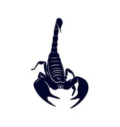 Scorpion logo image for tattoo symbol or vector