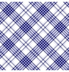 Seamless tartan plaid pattern in stripes of dark vector