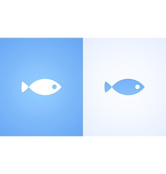 Sign of Fish vector image