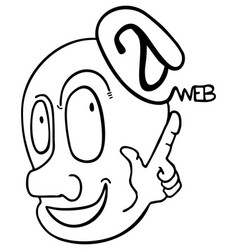 web puppet vector image vector image