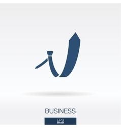 Business concept icon logo vector image vector image
