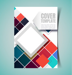 abstract report cover3 vector image