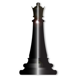 Chess queen vector