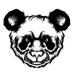 cute panda for tattoo ideas vector image