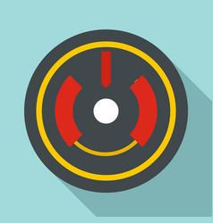 digital gun aim icon flat style vector image