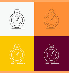 Done fast optimization speed sport icon over vector