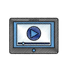 Media player interface for websites or vector