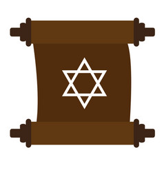 traditional torah image vector image