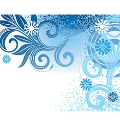 White Winter Background vector